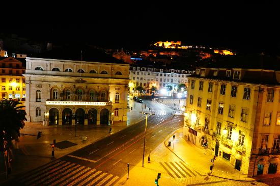 Rossio Hostel: view from the room!