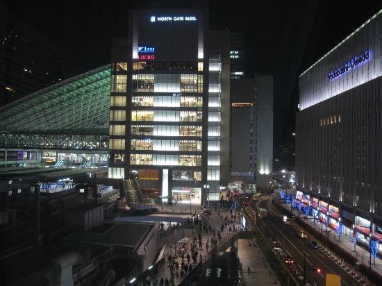 Hotel New Hankyu Osaka: View from my 8th floor room