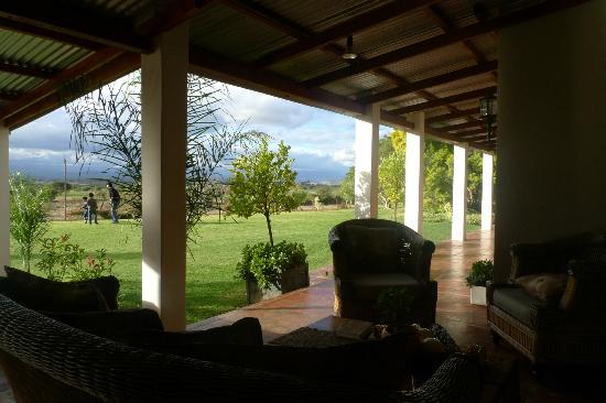 Mooiplaas Guesthouse: veranda