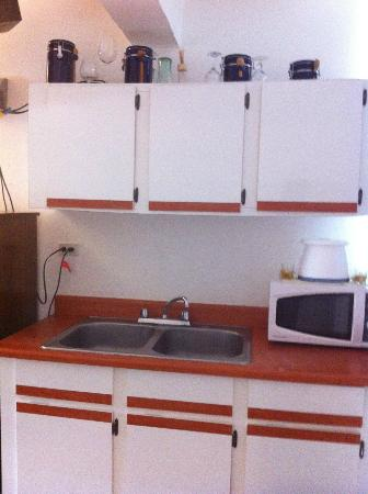 Dreams Hotel Puerto Rico: cute little kitchenette
