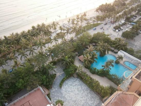 Shengyi Hotel Haiyue Plaza: looking down