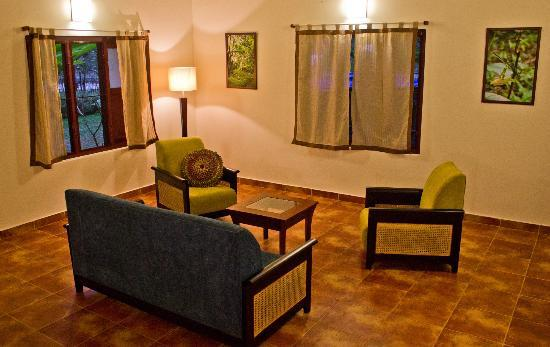 Pampa Villa: Living area