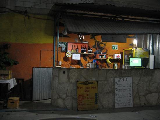 Weary Traveler Hostel: And bar!