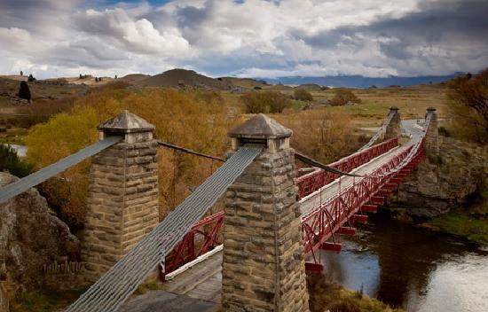 Adventure South NZ: The route follows the old Maniototo rail line from Clyde in central Otago to Middlemarch