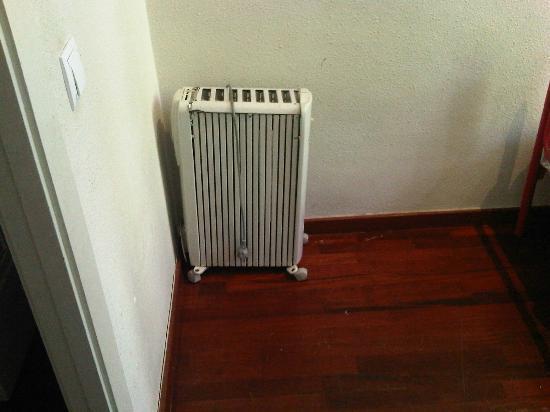 Hostal Windsor: calefaccion rota
