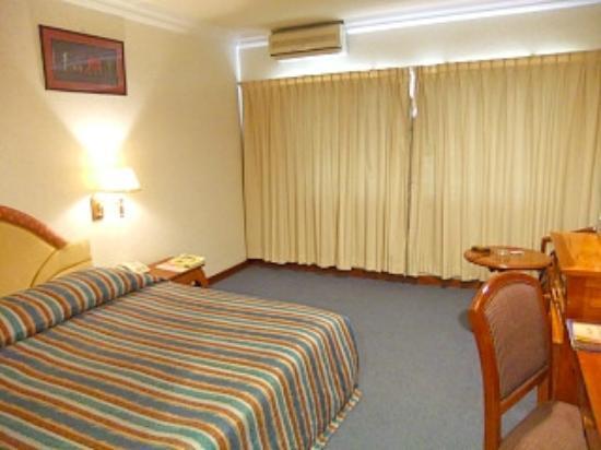 Salina Hotel: 寝室