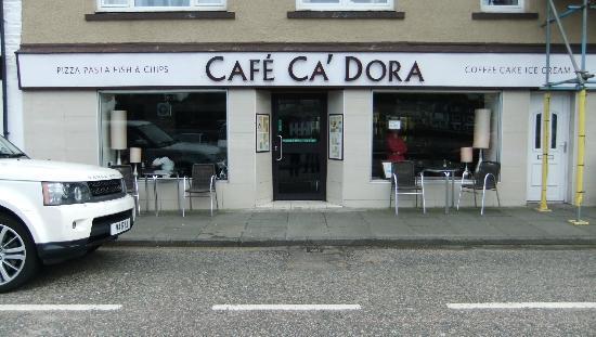 Ca Dora Cafe: Attractive exterior