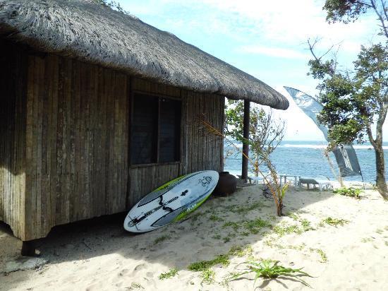 Kingfisher Resort: The hut we stayed
