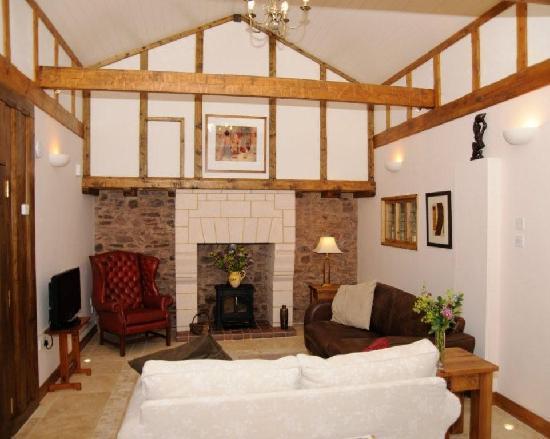 East Barton Bed & Breakfast: Cottage sitting room
