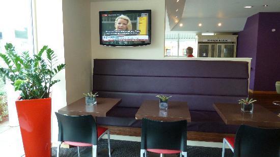 Lobby of Ibis Cardiff