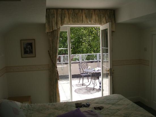 Kirkstone Foot : Balcony area from Langdale bedroom