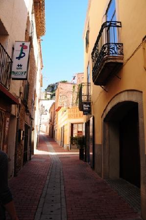 Classic Begur Hotel : la rue piétonne