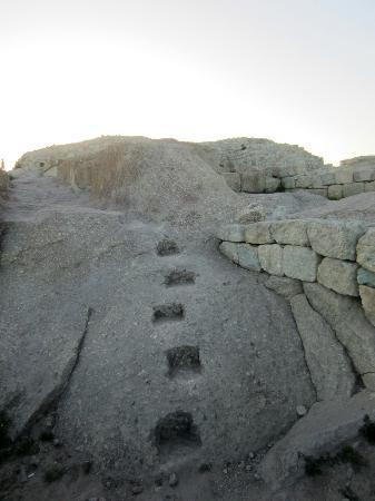 Perperikon : stairs