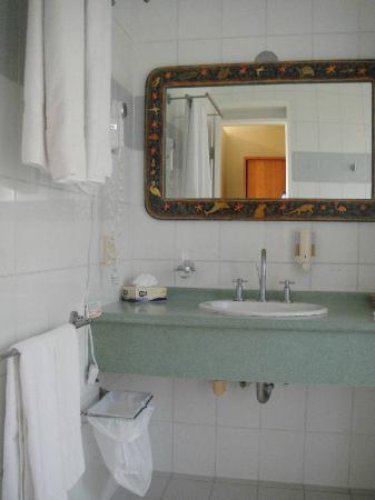 bathroom at Finch Bay Eco Hotel