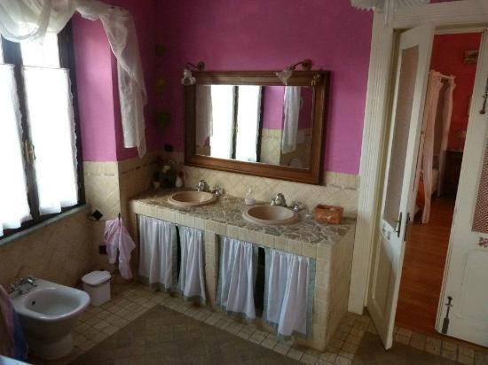La Curandera : bagno in camera (suite)