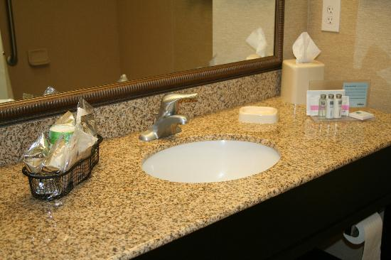 Hampton Inn Alamosa : Clean bathroom.