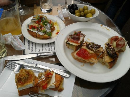 Restaurante Gran Sol : Algunos de los pinchos que nos comimos!!