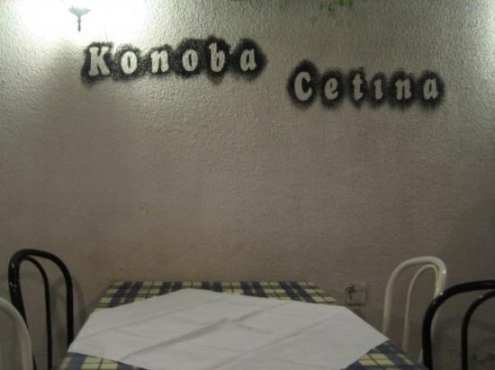 Konoba Cetina: garden