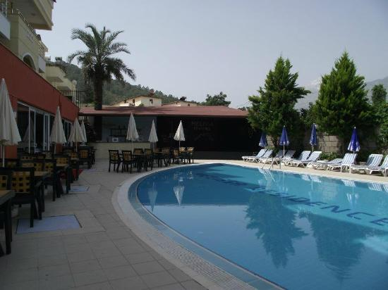 Melissa Residence & Spa Hotel: HAVUZ VE KAYDIRAK