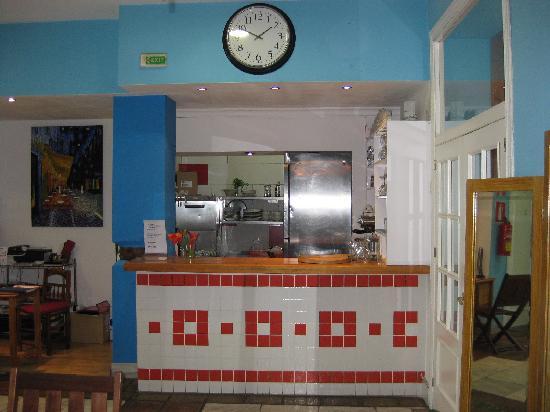Las Acacias Hostal: Cafeteria del Hostal Las Acacias