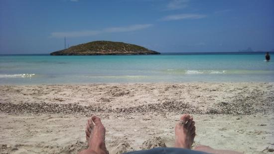 Strand Playa de ses Illetes: hihi