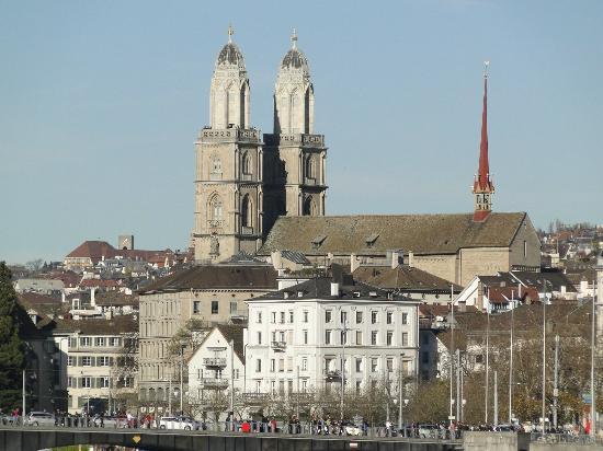 Old Town (Altstadt), Zurique, Suíça.