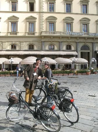FlorenceTown: Our guide and me.