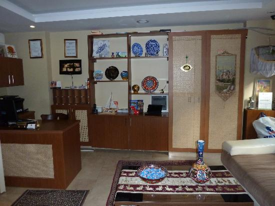Hotel Sultan House: Front reception