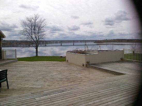 Howard Johnson Inn & Suites Miramichi : View of the magical mystical miramichi river