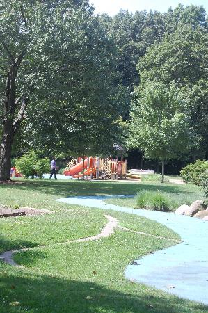 Frick Park: The Playground at Braddock and Forbes Avenues