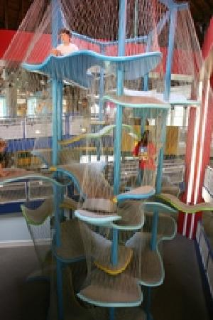 Gulfport, MS: Interactive exhibits include an amazing two-story indoor Climbing Sculpture simulating the sea