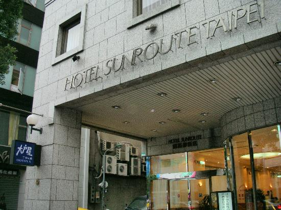 Sunroute Hotel: Front view