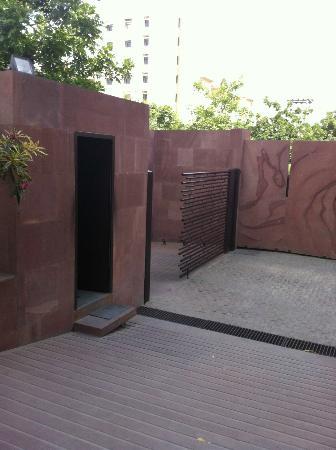 Devi Art Foundation: front gate