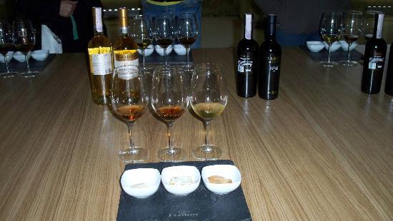 Florio: the three various wines