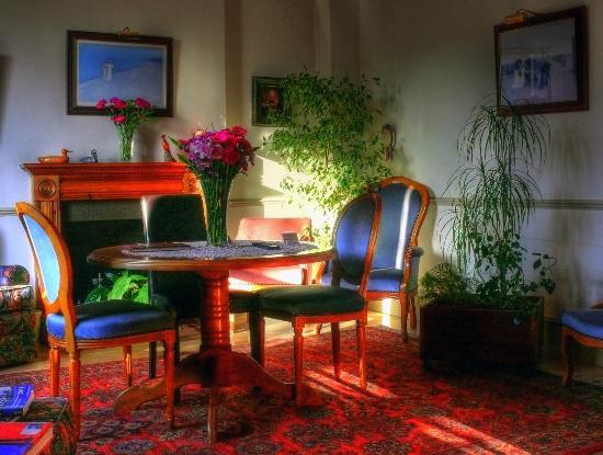 White Lodge Hotel: la sala