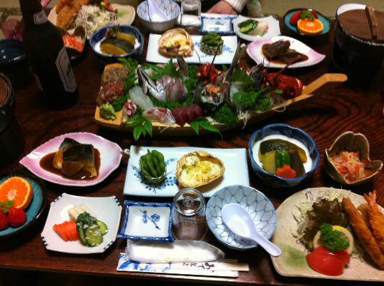 Minshuku Magusa: 夕食