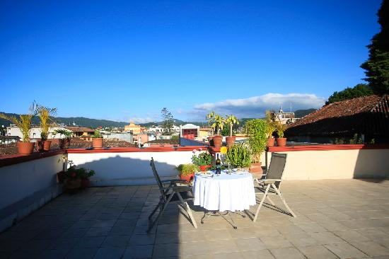 Mansion del Valle: Terraza
