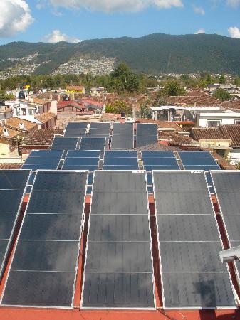 Mansion del Valle: panel solar
