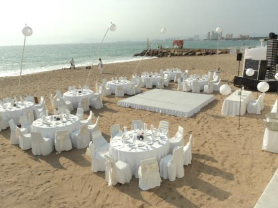 Buenaventura Grand Hotel & Great Moments All Inclusive: Acomodo de la boda