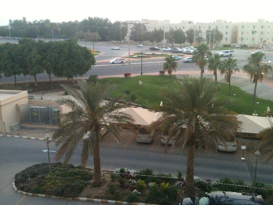 Al Jubail, Saoedi-Arabië: View from rooms toward sea