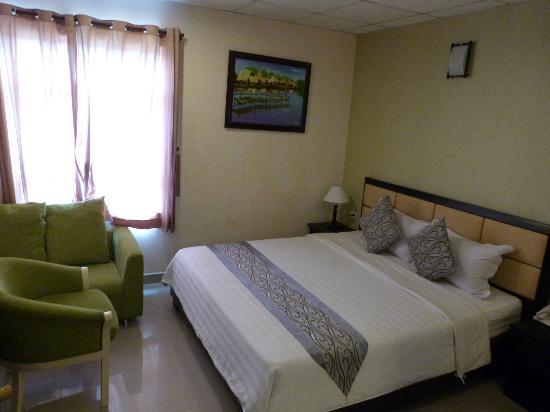 Hoang Ngan Hotel: Chambre