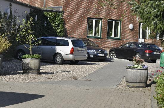 Hotel Birke: Ansicht Rückseite Businessbereich
