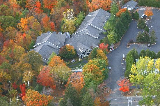 Waterbury Inn: Aerial view of the Waterbury
