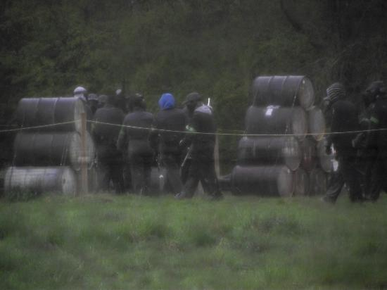 Delta Force Paintball: getting ready for battle