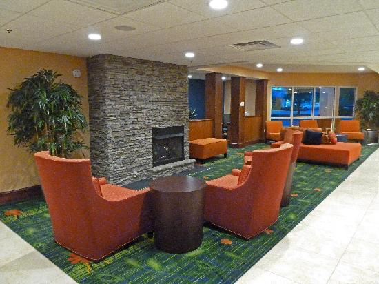 Fairfield Inn Asheville Airport: Asheville Airport Fairfield Inn Lobby