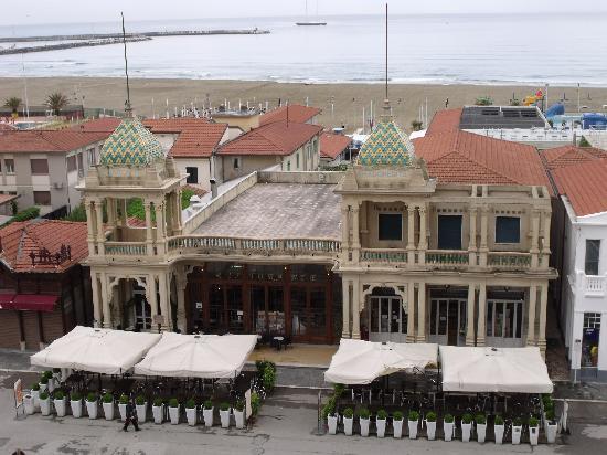 Plaza e De Russie Hotel: Vista dalla terrazza del ristorante