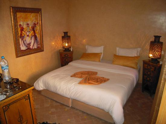 Riad Turquoise: chambre ivoire