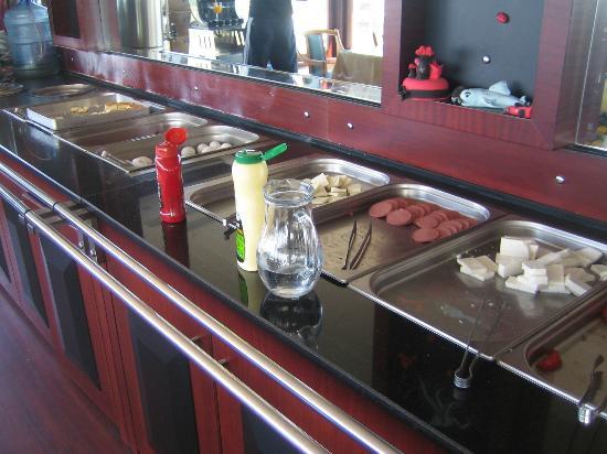 Grand Madrid Hotel: breakfast