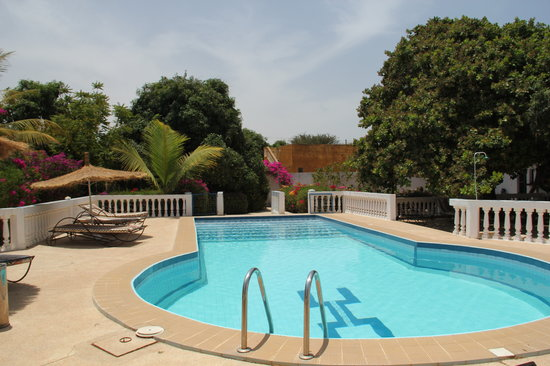 Les Manguiers : la piscine