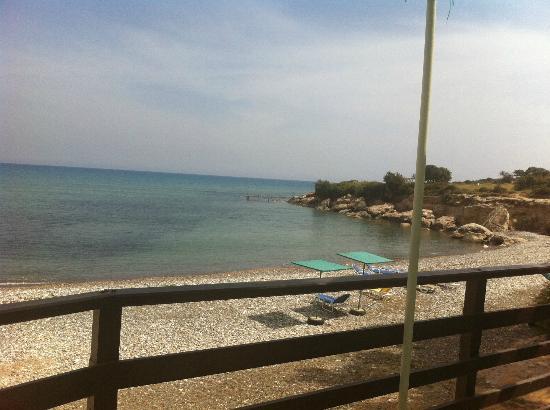 Melanda Beach Restaurant: View from the restaurant